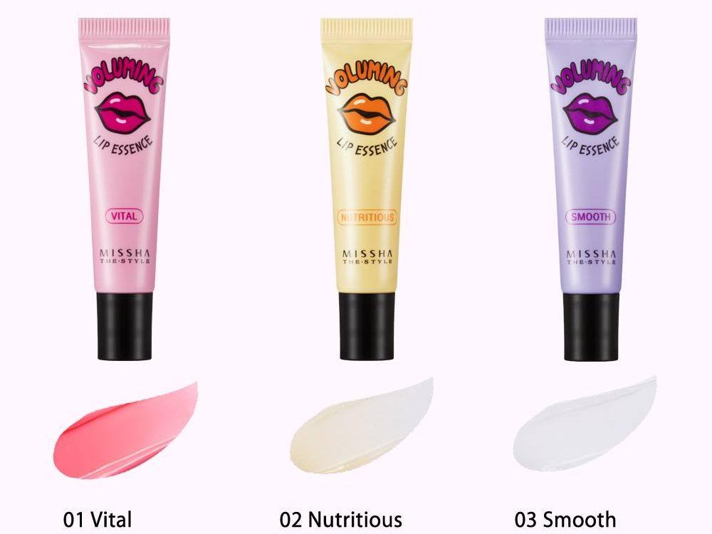 три вида эссенции для губ