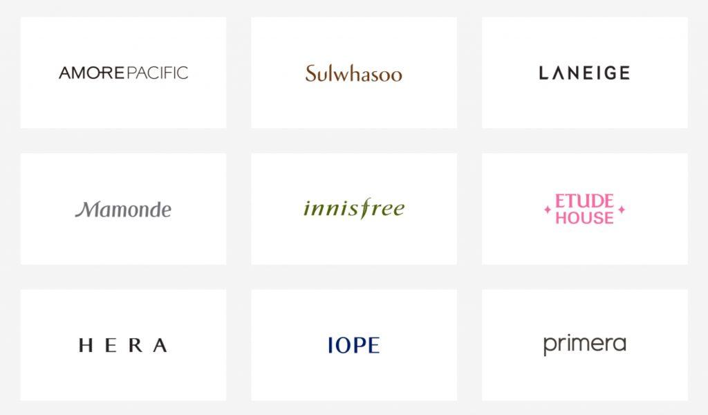 бренды корпорации amore pacifik