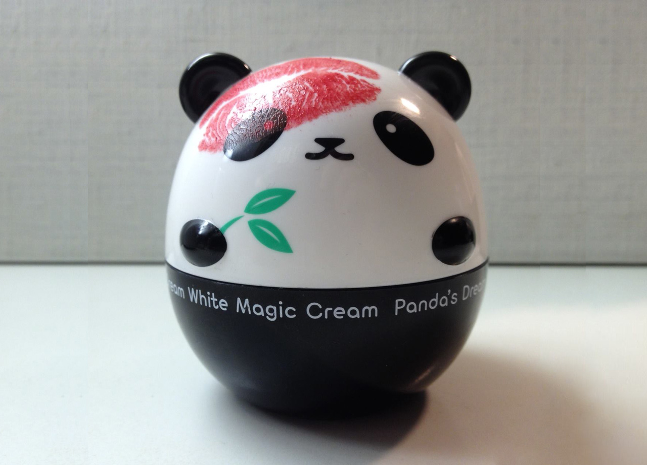 панда отбеливающая с поцелуем