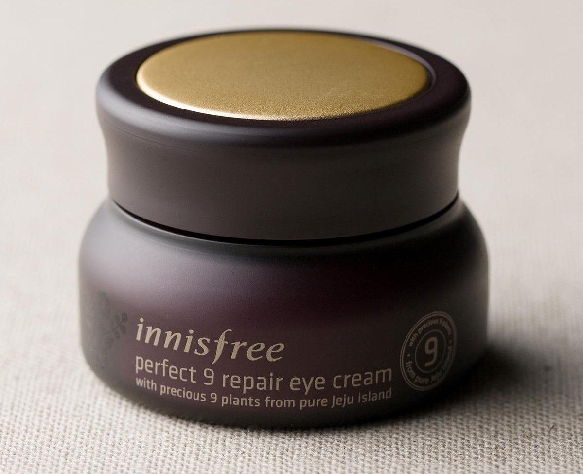Innisfree Perfect 9 repair eye cream энергетический, восстанавливающий крем для век