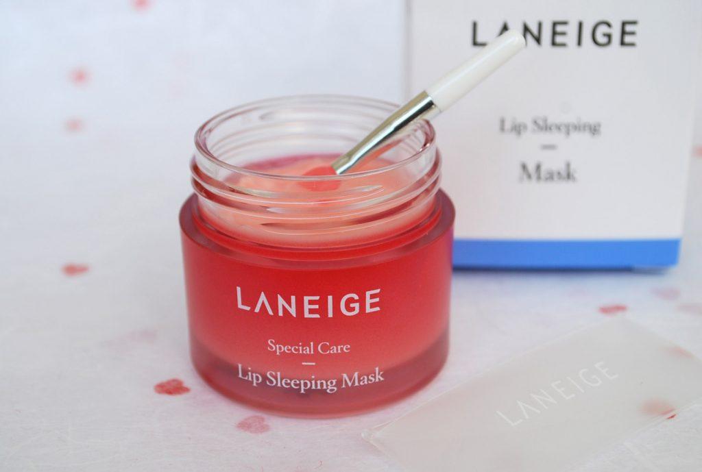 laneige lip sleeping pack маска для губ открытая