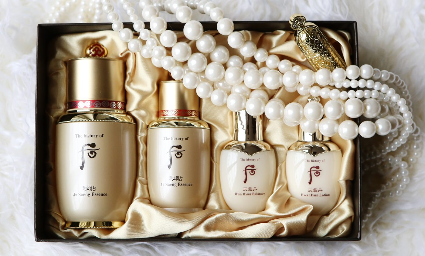 the history of whoo set серия