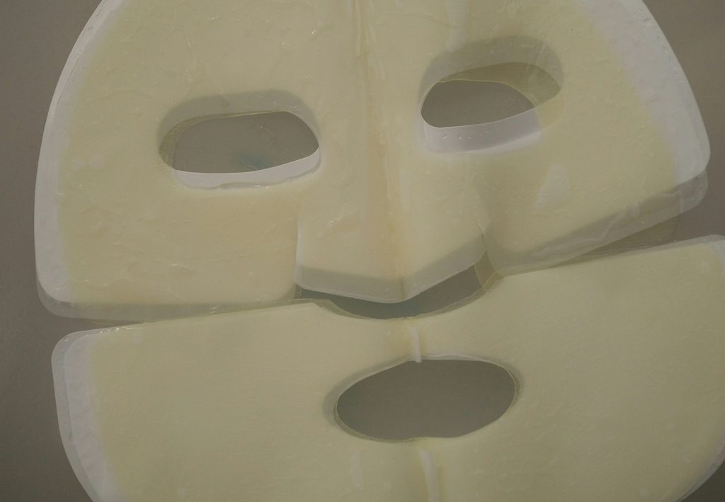 две части маски