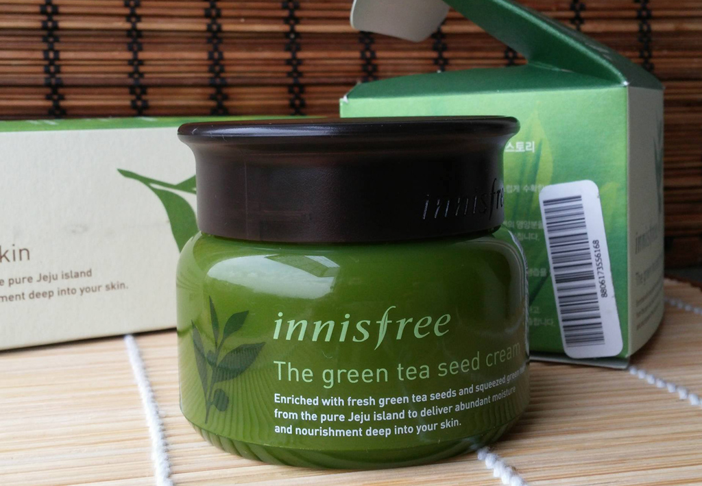 крем с зеленым чаем