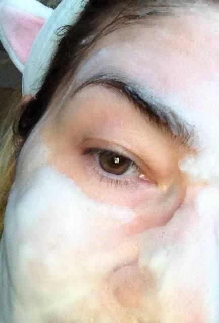 пенка на лице