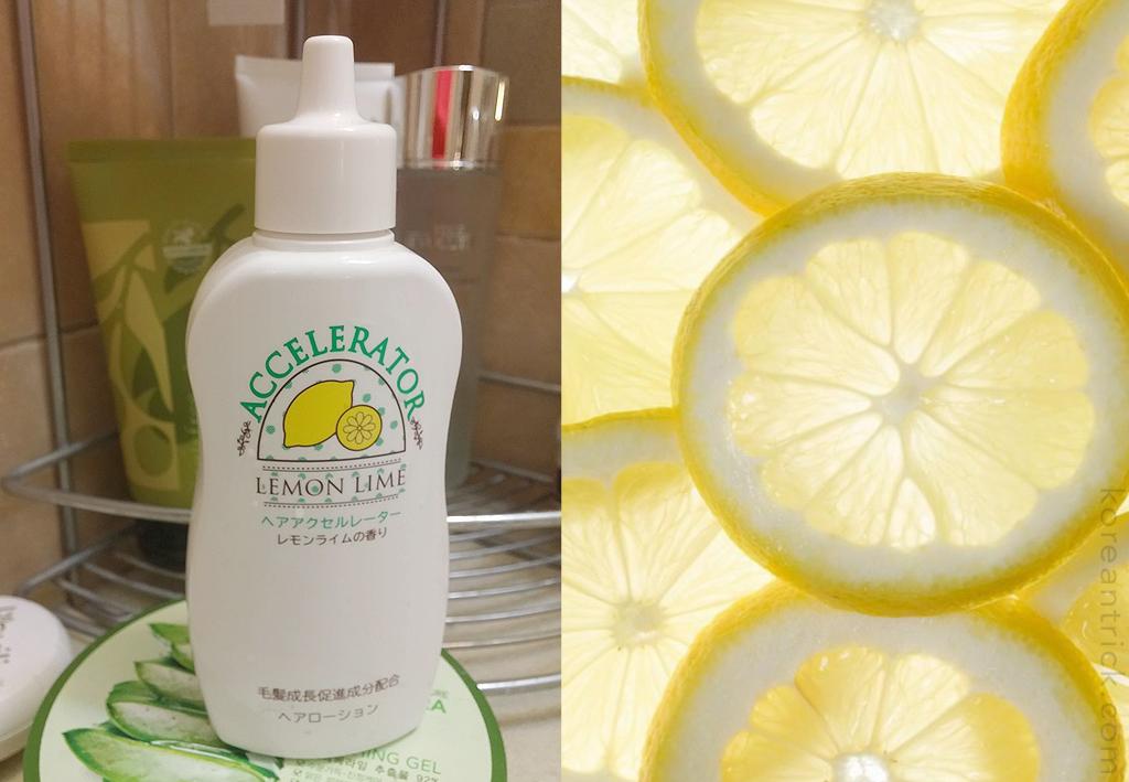 лечебный лосьон для волос с лимоном