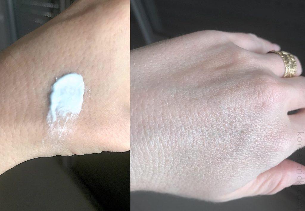 санскрин на коже