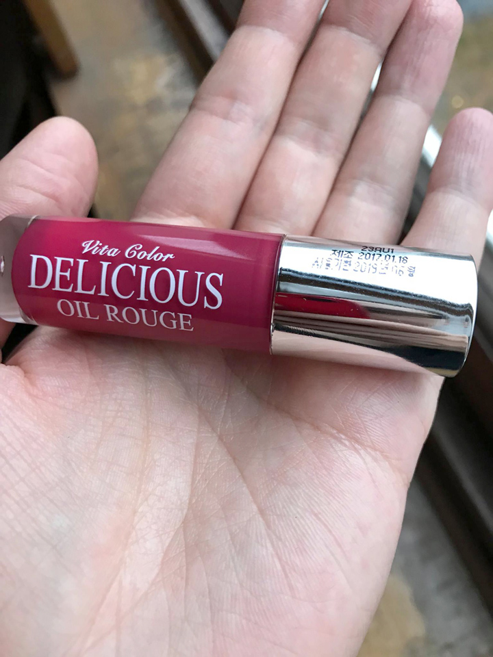 Skinfood Vita Color Delicious Oil Rouge