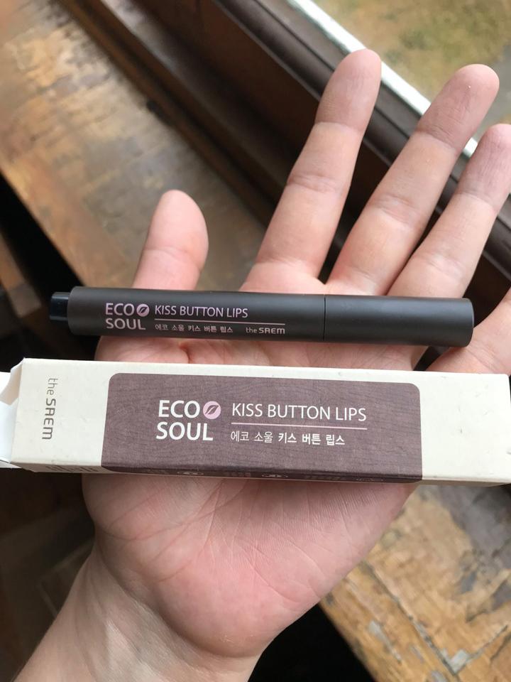 The saem eco soul kiss button lips
