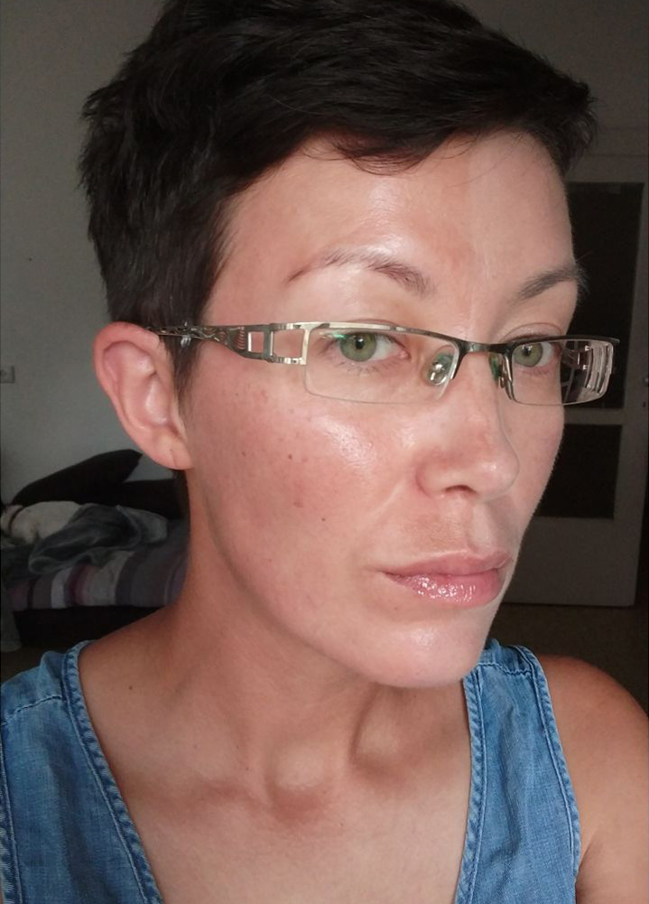 лицо без крема
