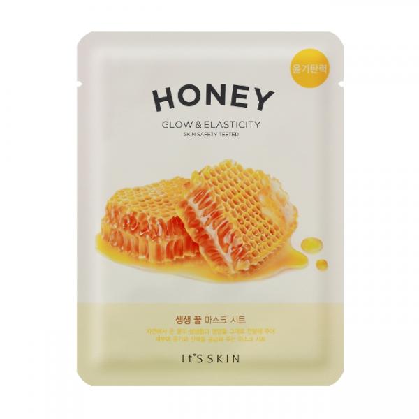 маска с мёдом