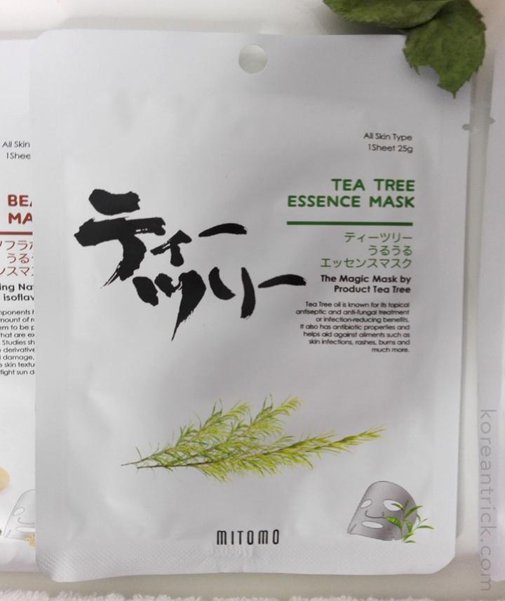 маска с маслом чайного дерева