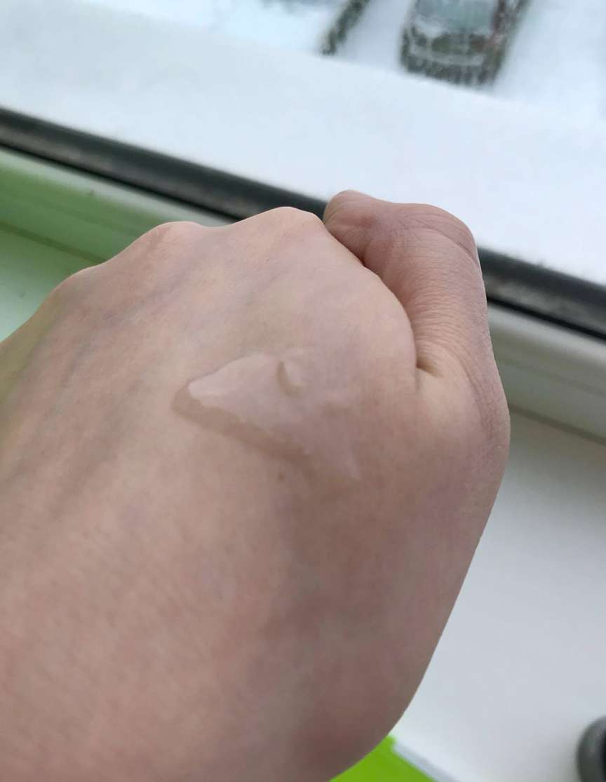 сыворотка на коже
