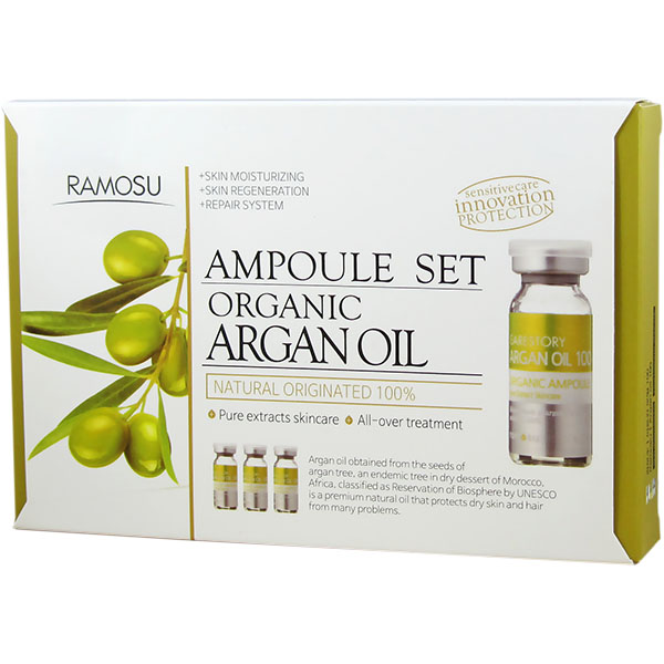 Argan Oil 100 Pure Concentrate Ampoule