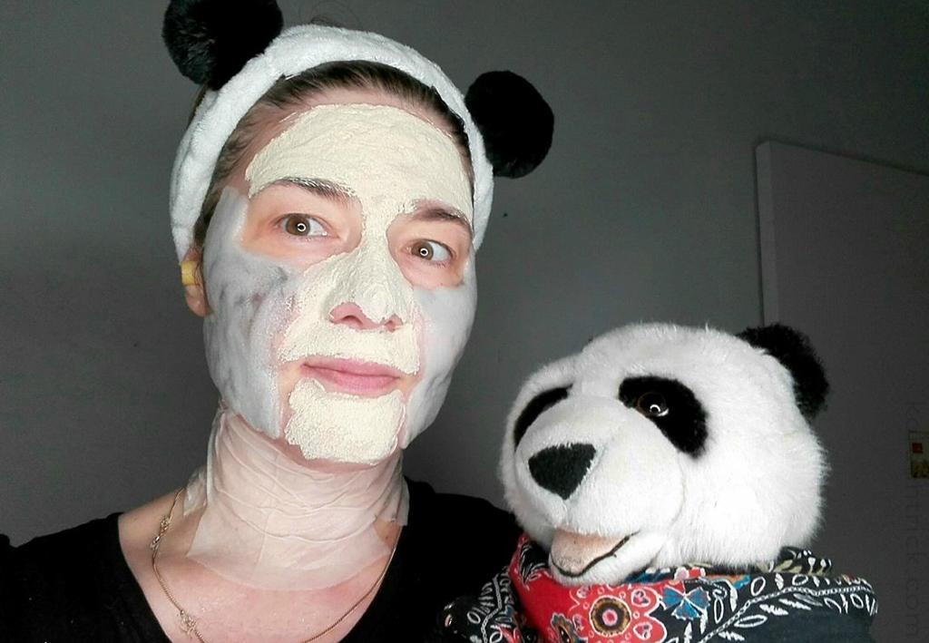 маска на коже