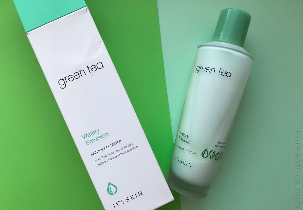 It's Skin Green Tea Watery Emulsion отзыв
