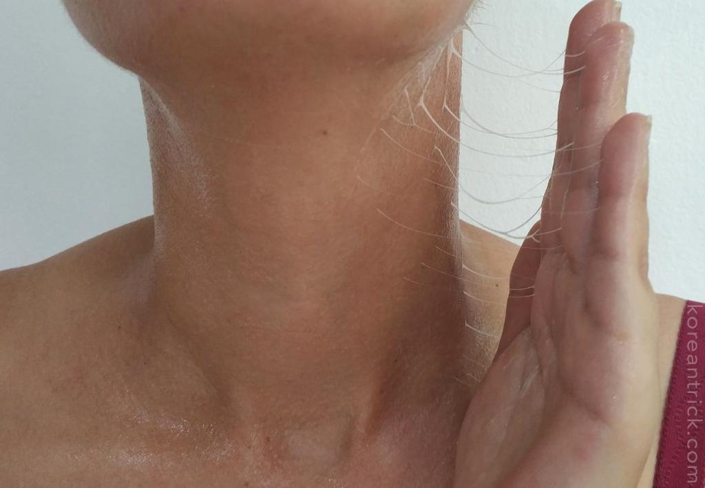 крем на шее