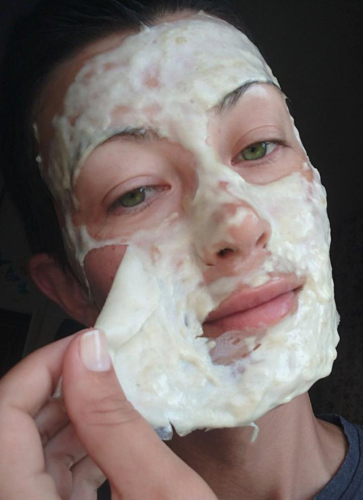 снимаю маску