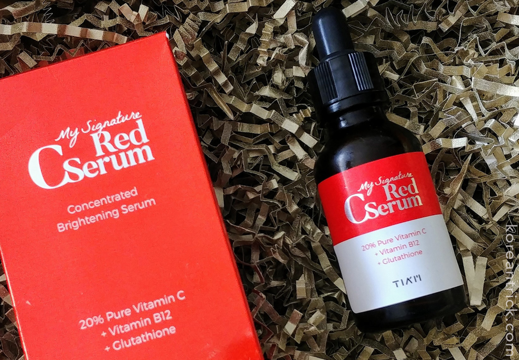 Серум с витамином С TIA'M My Signature Red C Serum отзыв