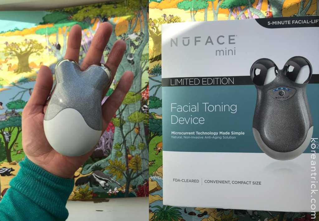 NuFACE Refreshed Mini Facial Toning Device отзыв