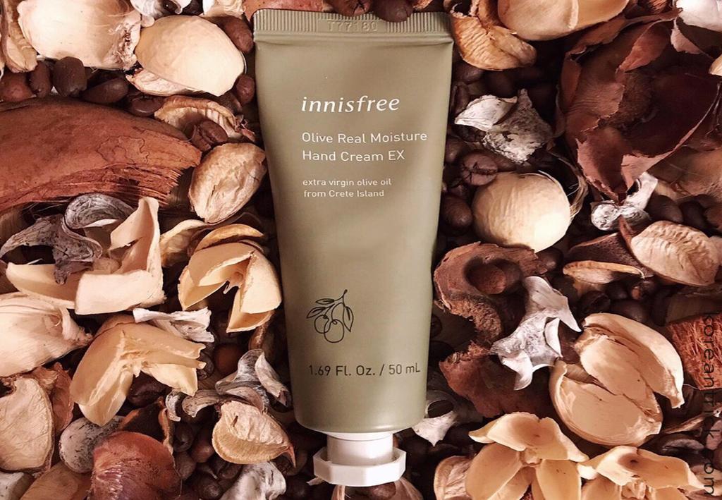 Innisfree Olive real moisture hand cream EX отзыв