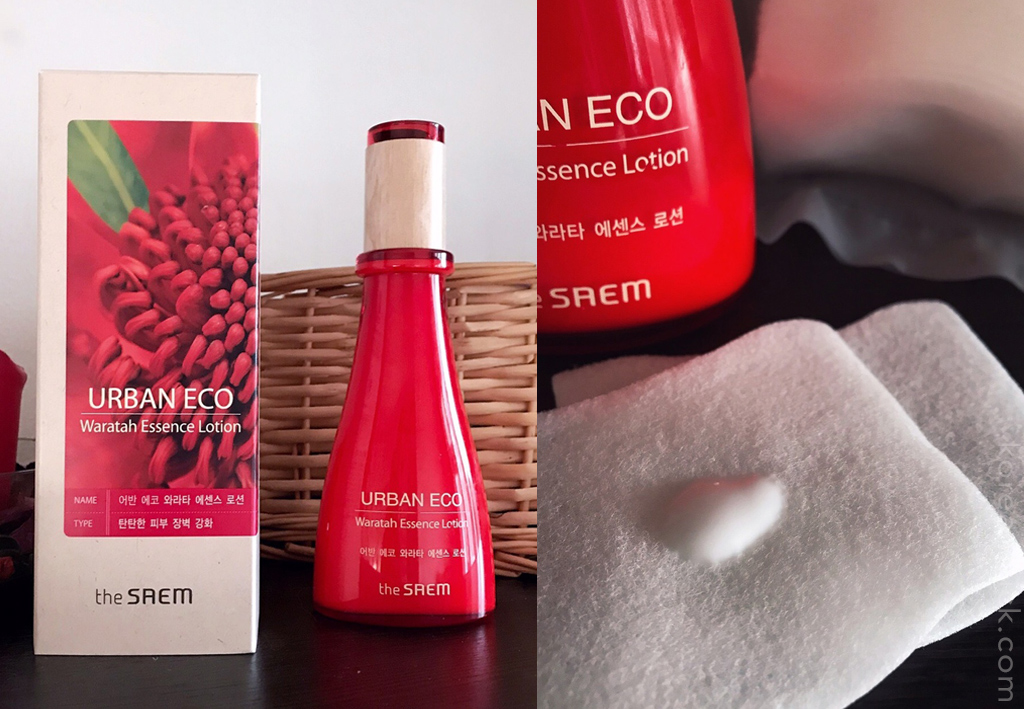 The Saem Urban Eco Waratah Essence Lotion отзыв