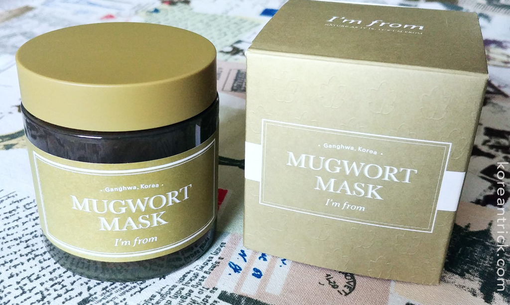 I'm from mugwort mask отзыв