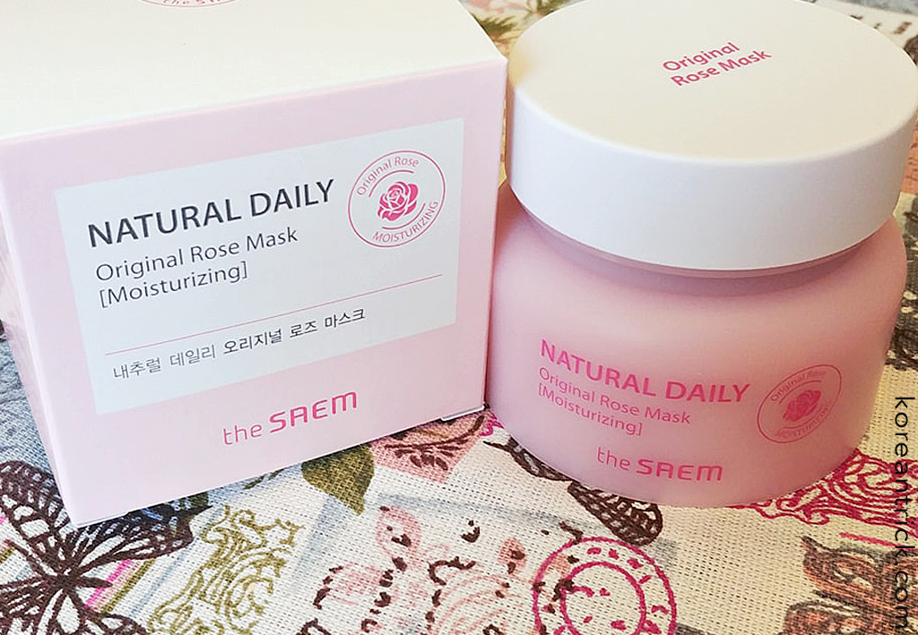 The SAEM Natural Daily Original Rose Mask отзыв