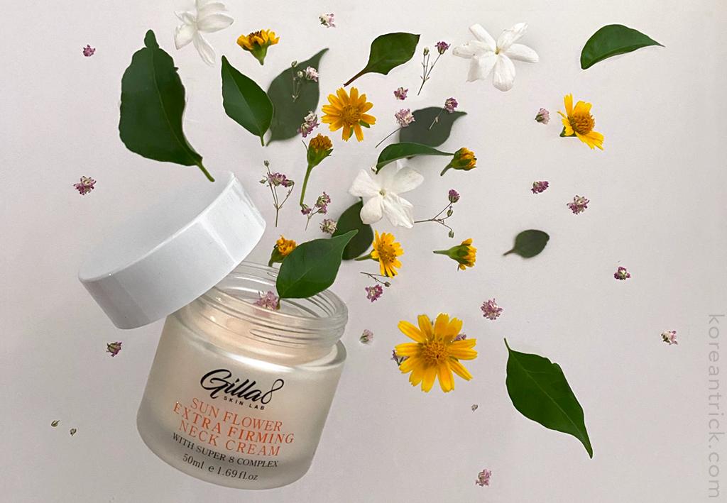 Крем для шеи Gilla8 Sun Flower Extra Firming Neck Cream отзыв