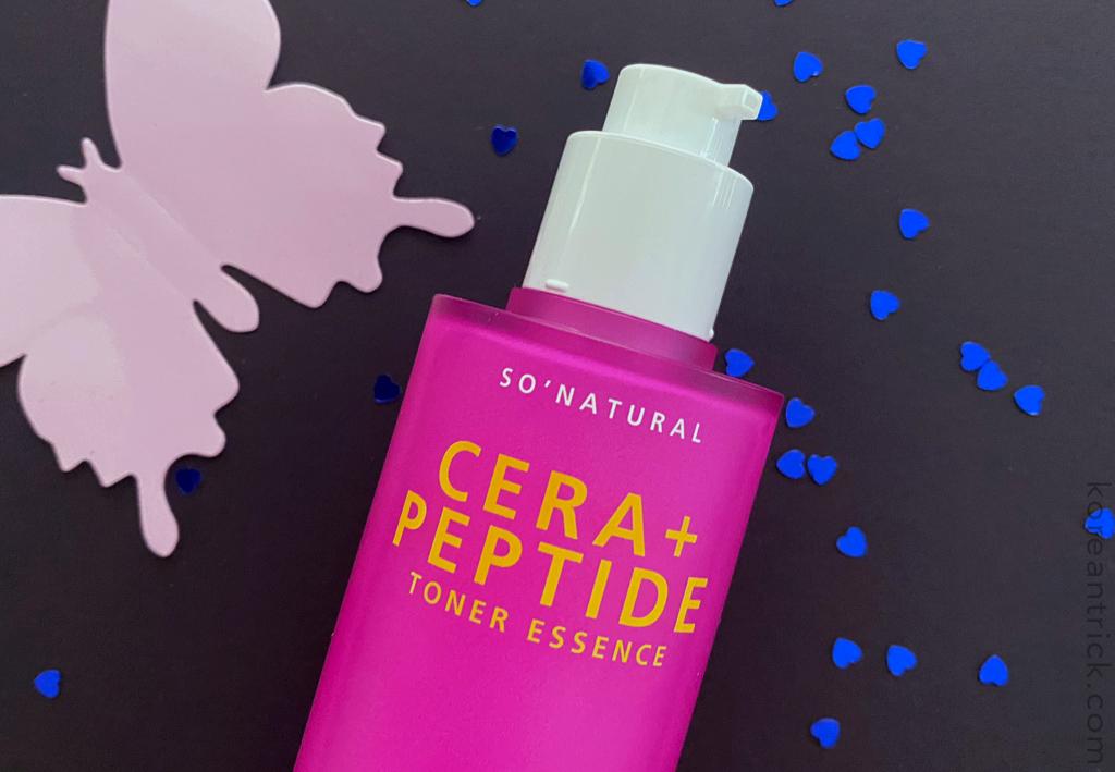 So Natural Cera+ Peptide Toner Essence отзыв
