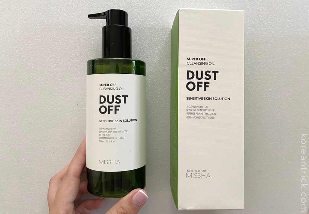 MISSHA Super Off Cleansing Oil Dust Off отзыв