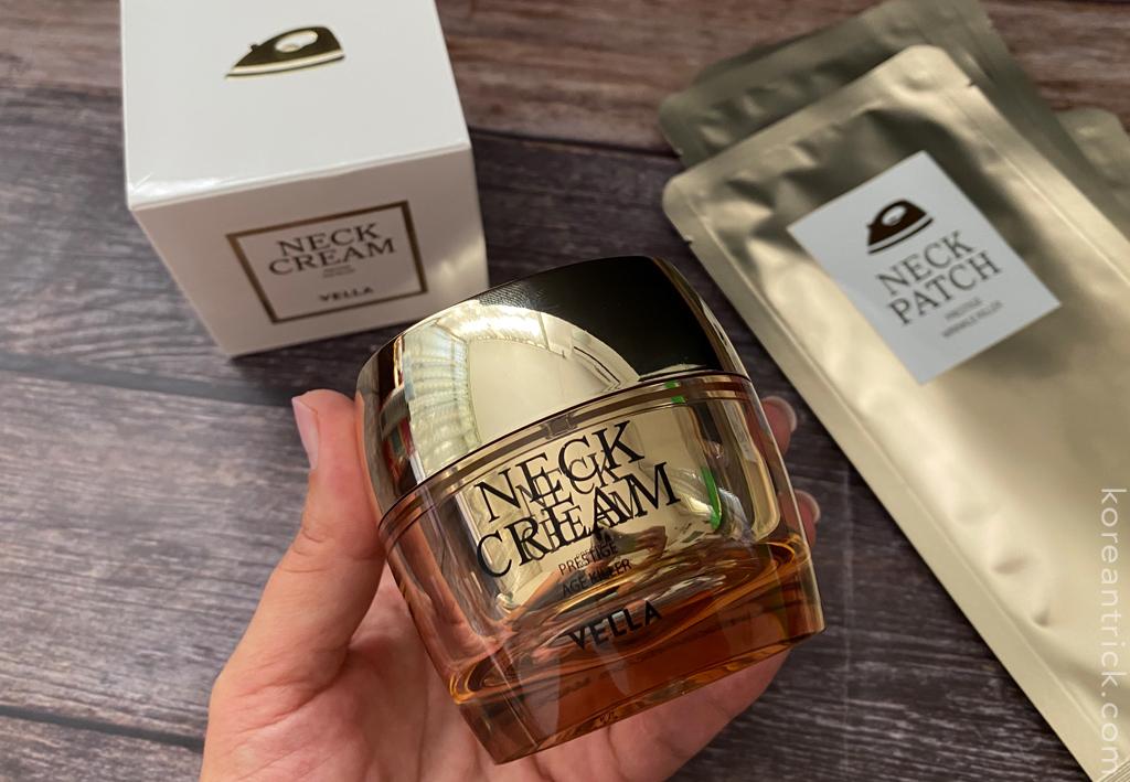 Vella Neck Cream Prestige Age Killer отзыв