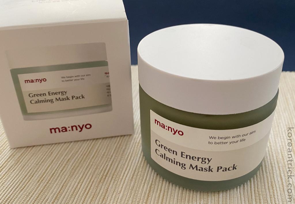 MANYO FACTORY Green Energy Calming Mask Pack отзыв